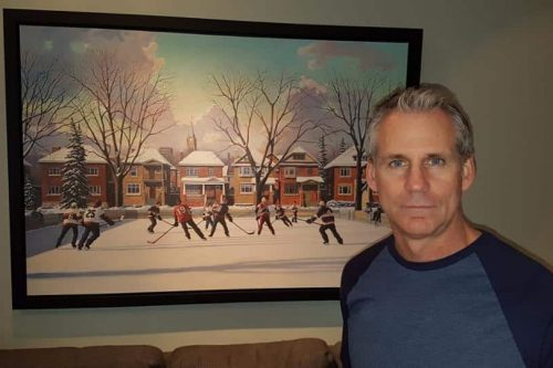 NHL Gives Artist The Commision of a Lifetime