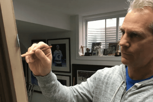 Ottawa artist painting NHL's top 100 players of all time